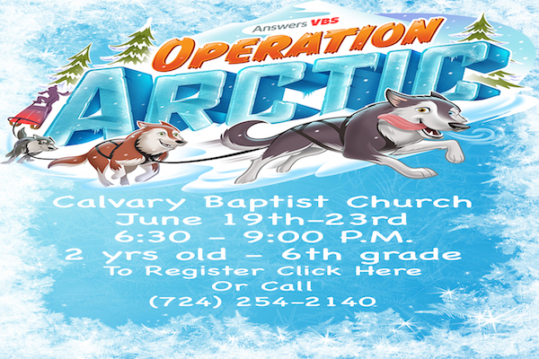VBS Webpage Poster